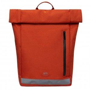 Lefrik Reflective Roll Top Backpack rust Laptoprugzak