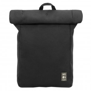 Lefrik Roll Top Backpack black Laptoprugzak