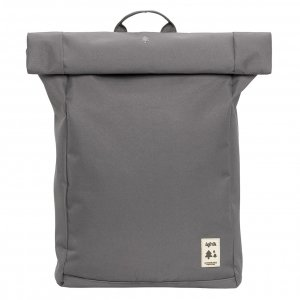 Lefrik Roll Top Backpack grey/ecru Laptoprugzak