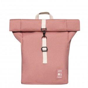 Lefrik Roll Top Mini Backpack dust pink Rugzak