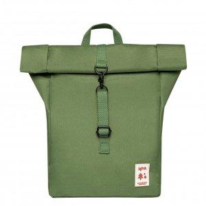 Lefrik Roll Top Mini Backpack grass Rugzak