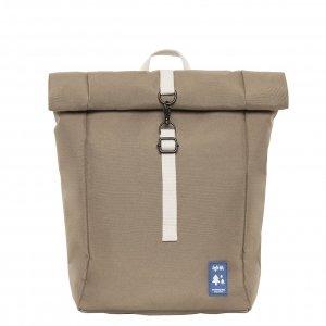 Lefrik Roll Top Mini Backpack tobacco Rugzak