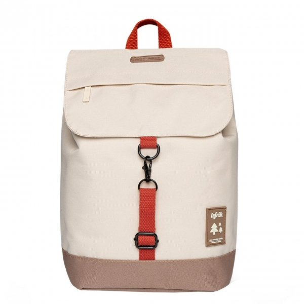 Lefrik Scout Backpack ecru Laptoprugzak