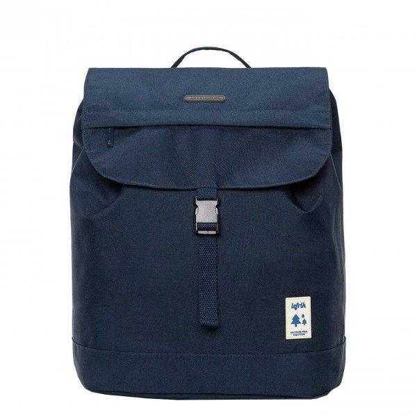 Lefrik Scout Backpack navy/ecru Laptoprugzak