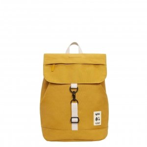 Lefrik Scout Mini Backpack mustard Rugzak