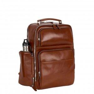 Leonhard Heyden Cambridge Business Backpack cognac backpack