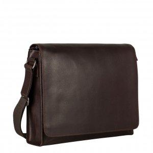 Leonhard Heyden Dakota Shoulder Bag L brown Herentas