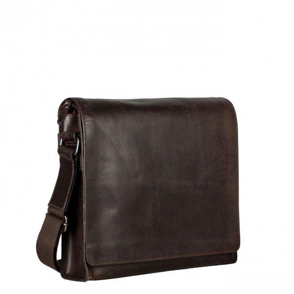 Leonhard Heyden Dakota Shoulder Bag M brown Herentas