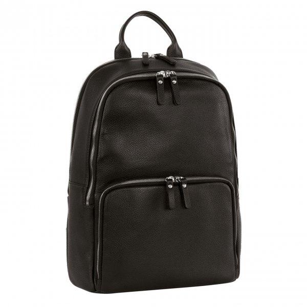 Leonhard Heyden Montpellier Business Backpack black backpack