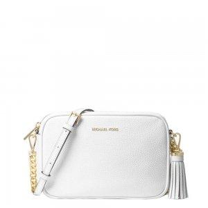 Michael Kors Ginny Camera Bag Medium optic white Damestas