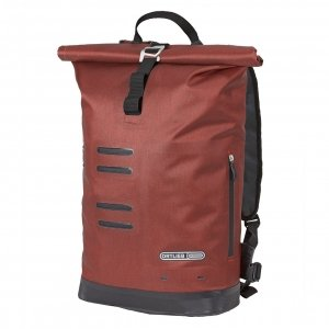 Ortlieb Commuter-Daypack City 21L dark chili backpack
