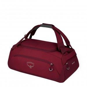 Osprey Daylite Duffel 30 cosmic red Handbagage koffer