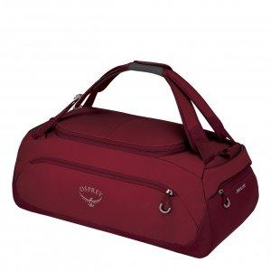Osprey Daylite Duffel 45 cosmic red Handbagage koffer