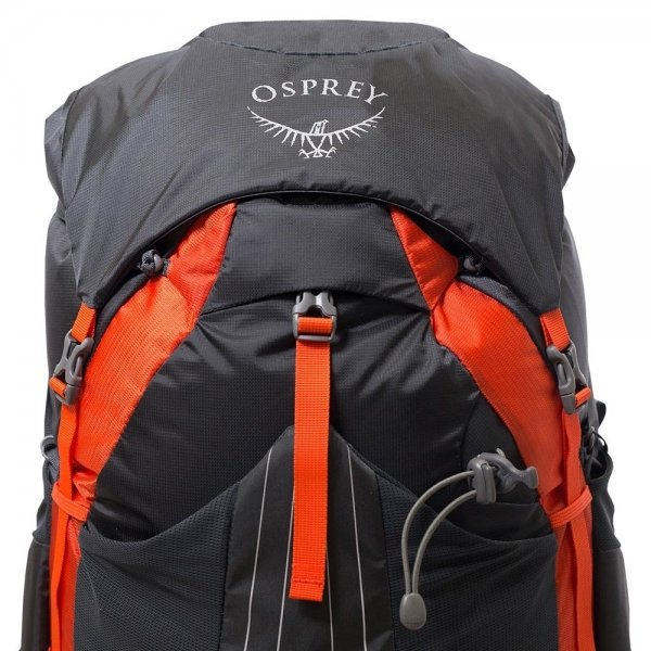 Osprey Exos 38 Large Backpack blaze black backpack van