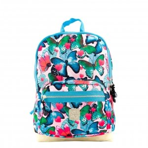 Pick & Pack Beautiful Butterfly Backpack M multi pastel Laptoprugzak