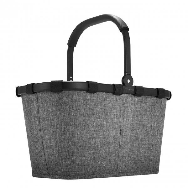 Reisenthel Shopping Carrybag Frame twist silver