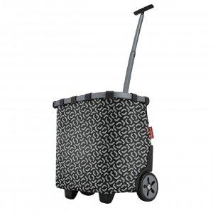 Reisenthel Shopping Carrycruiser frame signature black Trolley