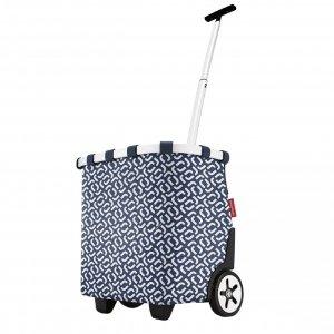 Reisenthel Shopping Carrycruiser frame signature navy Trolley
