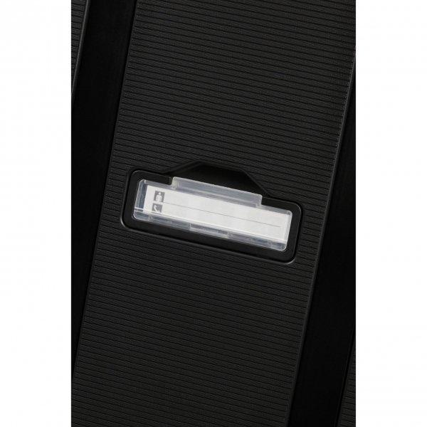 Samsonite Magnum Eco Spinner 55 graphite Harde Koffer van Polypropyleen