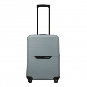 Samsonite Magnum Eco Spinner 55 ice blue Harde Koffer