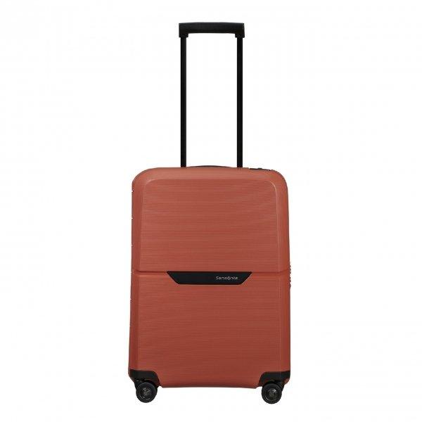 Samsonite Magnum Eco Spinner 55 maple orange Harde Koffer