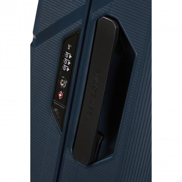 Samsonite Magnum Eco Spinner 55 midnight blue Harde Koffer