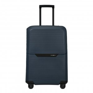 Samsonite Magnum Eco Spinner 69 midnight blue Harde Koffer