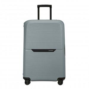 Samsonite Magnum Eco Spinner 75 ice blue Harde Koffer