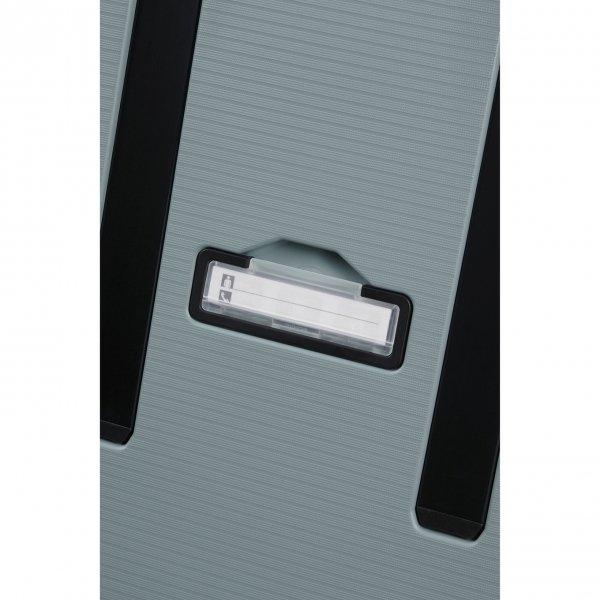 Samsonite Magnum Eco Spinner 75 ice blue Harde Koffer van Polypropyleen