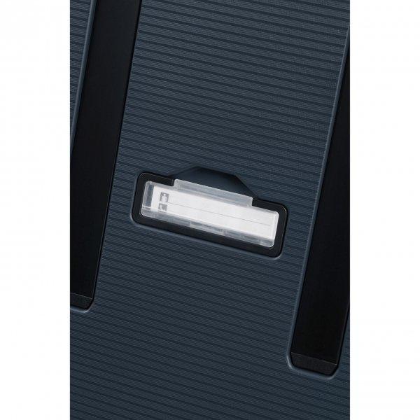 Samsonite Magnum Eco Spinner 75 midnight blue Harde Koffer van Polypropyleen