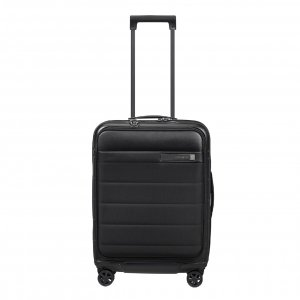 Samsonite Neopod Spinner 55 Exp Easy Access black Harde Koffer