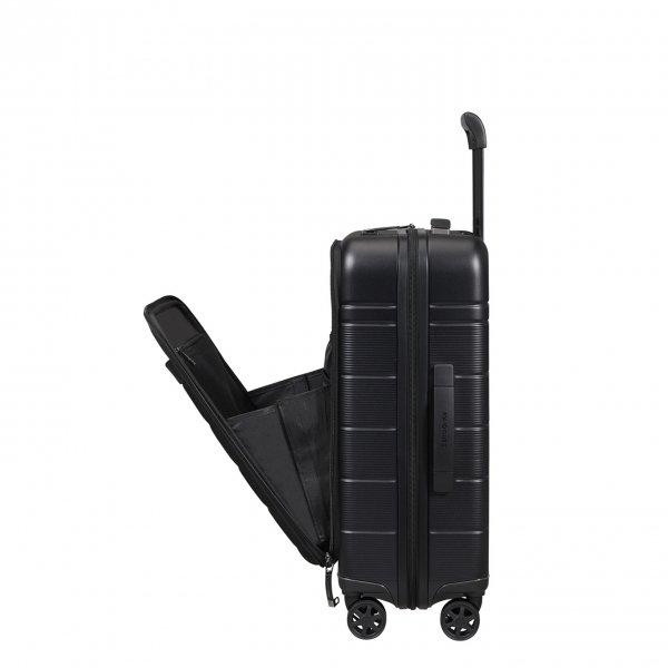 Samsonite Neopod Spinner 55 Exp Easy Access black Harde Koffer van
