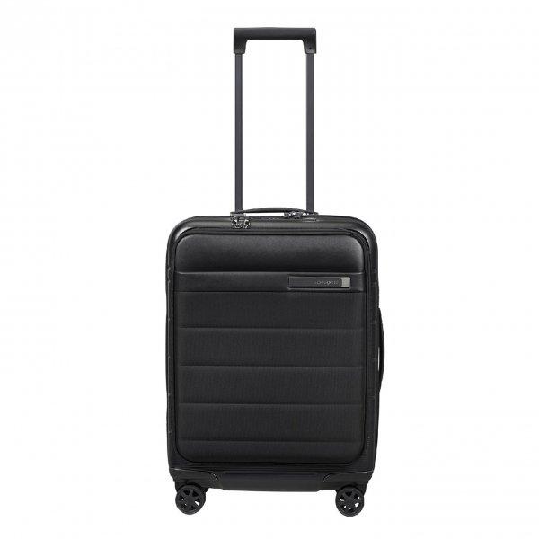 Samsonite Neopod Spinner 55 Exp Easy Access black Harde Koffer