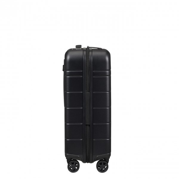 Samsonite Neopod Spinner 55 Exp Slide Out Pouch black Harde Koffer van