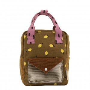 Sticky Lemon Corduroy Special Edition Backpack S dijon gingerbread Kindertas