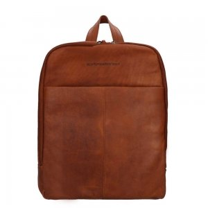 The Chesterfield Brand Dex Laptop Backpack cognac backpack