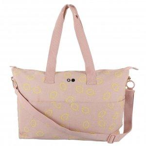 Trixie Lemon Squash Diaper Bag soft pink Luiertas
