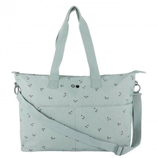 Trixie Mountains Diaper Bag mint green Luiertas