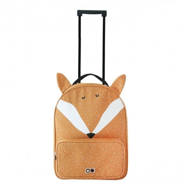 Trixie Mr. Fox Travel Trolley orange Zachte koffer