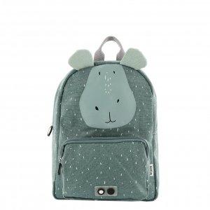 Trixie Mr. Hippo Backpack mint groen