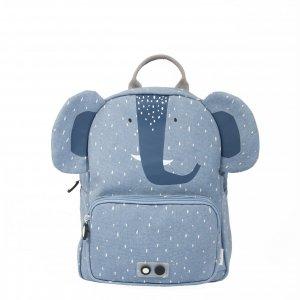 Trixie Mrs. Elephant Backpack light blue
