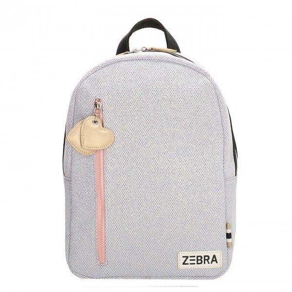 Zebra Trends Girls Rugzak M glitter lila
