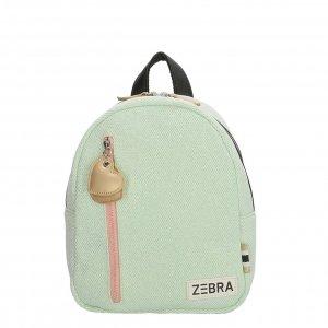 Zebra Trends Girls Rugzak S glitter mint Kindertas