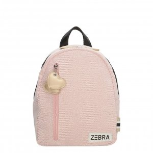 Zebra Trends Girls Rugzak S glitter roze Kindertas