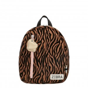 Zebra Trends Girls Rugzak S zebra bruin Kindertas