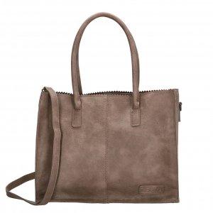 Zebra Trends Natural Bag Kartel Lisa stone grey Damestas