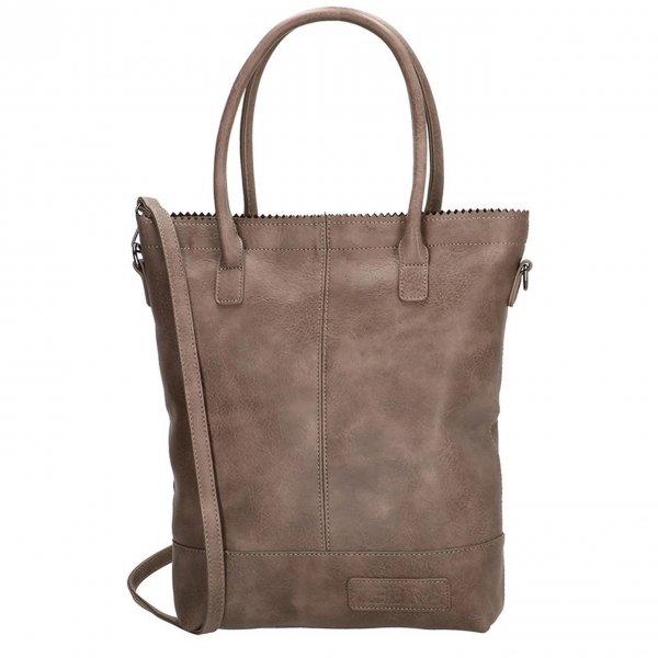 Zebra Trends Natural Bag Kartel stone grey Damestas