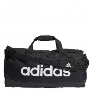 Adidas Linear Duffel L black/white Weekendtas