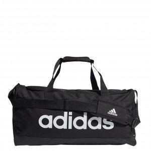 Adidas Linear Duffel M black/white Weekendtas