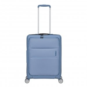 American Tourister Hello Cabin Spinner 55 blue heaven Harde Koffer